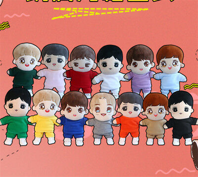 KPOP NCT Shinee EXO BTS Doll's Clothes Top T-shirt + Pants Suit Limited【NO DOLL】
