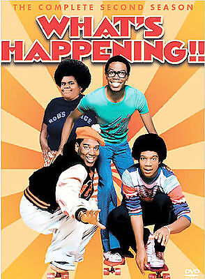 Whats Happening - The Complete Second Season (DVD, 2004, 3-Disc Set) NEW!