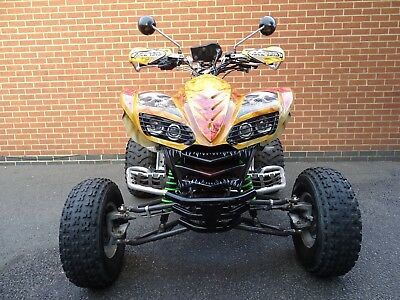 Quad  Bike Kawasaki Kfx 700 Automatic Customised Airbrushed  Road Legal