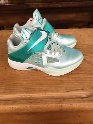 5fe50f9d768b NIKE ZOOM KEVIN Durant KD IV 4 Easter Candy Green White Grey 473679 ...