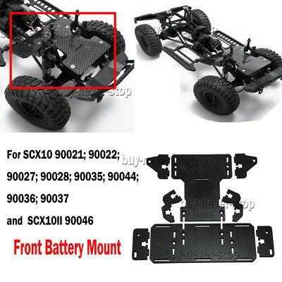 CARBON FIBER BATTERY Front Mounting Plate Upgrade Parts for