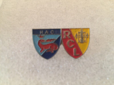 RARE Pin's FOOTBALL HAC / RCL , LE HAVRE - LENS , Ligue 1 FOOT