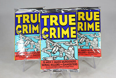 Eclipse True Crime Trading Cards, ONE Unopened Pack, 1992