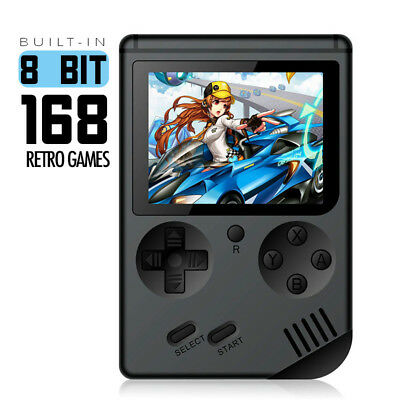 Built-in 8 bits 168 Retro consola apoyo reproductor de Video TV-Out juegos