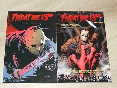 Friday The 13th TPB (2007-2008 DC/Wildstorm) Book 1 & 2 (complete set)