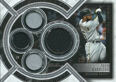 2018 Topps Museum Collection #SPQR-JH 82/99 Patch Josh Harrison Pirates MLB