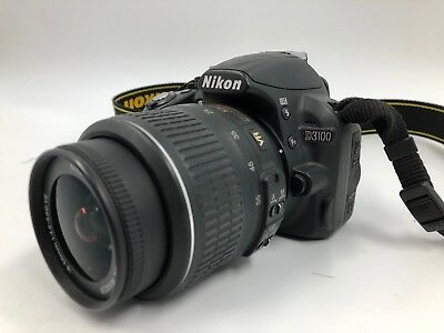 Nikon D D3100 14.2MP Digital SLR (Kit w/ AF-S DX VR 18-55mm) (22034918-1)