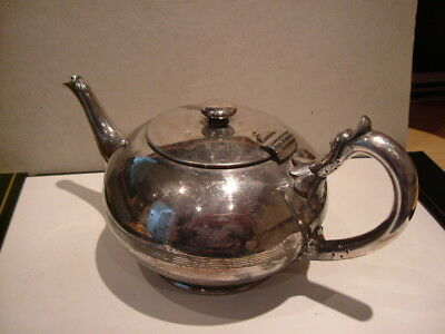 Antique Mid 19th Century Silver Plated EPNS Teapot.