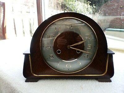 "Smiths 8 Day Striking Mantle Clock ""the Harlyn"" Fwo"