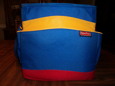 FISHER PRICE INSULATED TRAVEL TOTE STORAGE BAG with Lots of Space