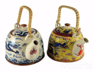 Dragon Design Chinese Teapot, Tea Pot with infuser.
