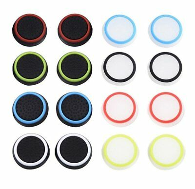 Silicone 6pcs Controller Joystick Grip Thumb Stick Cap Cover For PS4 PS3 Xbox