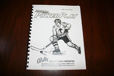 Power Play Pinball Manual with Full-Size, Fold-Out Schematics