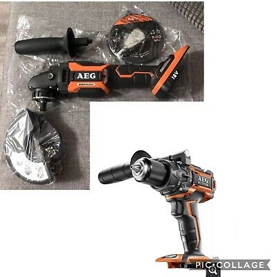 AEG 18v Brushless 125mm Grinder & Aeg Brushless Hammer Drill CLEARANCE SALE 😎