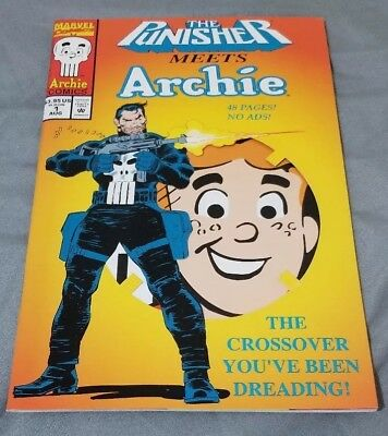 The Punisher Meets Archie & Archie Meets The Punisher (Marvel 1994) VF/NM