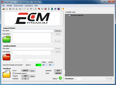 ECM Titanium V1.61 (26000 Drivers)[download]remap software tuning software