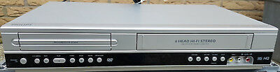 Philips DVP3350V 6 HEAD VHS Videorecorder DVD-Player PAL/NTSC