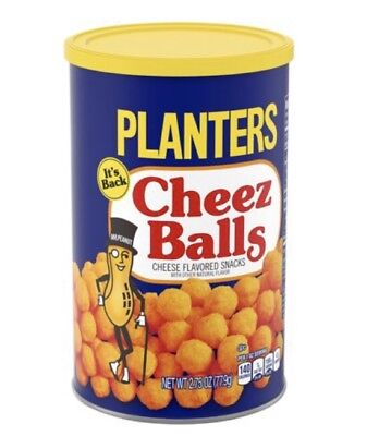 Planters Cheese Balls  Pack Of 4 2.75 Oz Canisters Sold Out