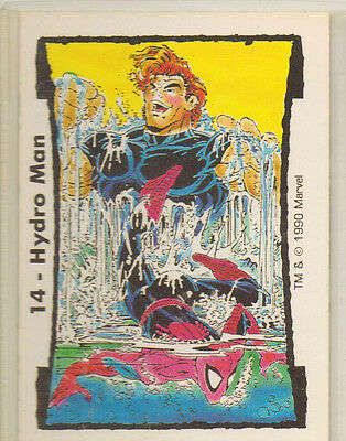 #14 HYDRO MAN (Spider-Man) Marvel TODD McFARLANE Series II Trading Cards (1990)