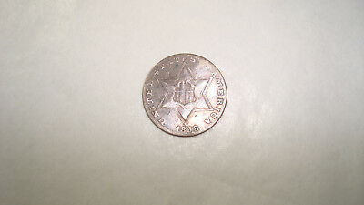 1858 3c Three Cents Silver - You Grade It (#Kb46)