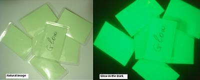LOT OF 10   GLOW in the DARK  ALL –PURPOSE LABEL