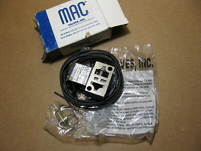 MAC 35A-SAD-DFEC-1BA Pneumatic Solenoid Valve 12VDC 35ASADDFEC1BA New In Box