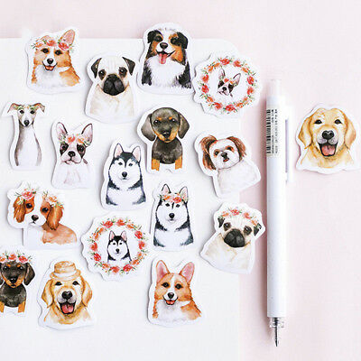 Super Cute Dogs Stickers Set Album Scrapbook Calendar Diary Scrapbook Craft DIY