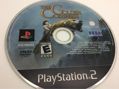 The Golden Compass (Sony PlayStation 2) PS2 Tested. Disc Only. FREE Shipping
