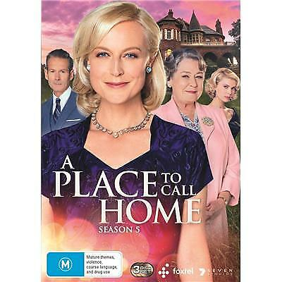 A Place To Call Home Season 5 Dvd, New & Sealed, Region 4, Free Post