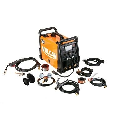Multi-Process Welder MIG TIG and Stick Welding 120/240 Volt Input W/ Color LCD