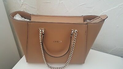 cf84897cc6 Rrp £124 New Guess Women s Chain Tote Bag Citron Classic Fashion Bag
