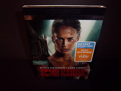 Tombraider 2018 4k Ultra HD + Bluray + Digital Brand New and Sealed!