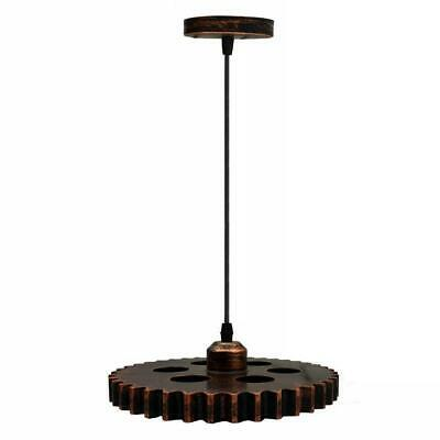 Vintage Gear wheel Retro Ceiling Light Pendant Industrial Lampshade Cheap