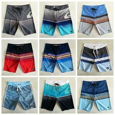 Mens Casual Surf Shorts Quick Dry Board Shorts Swim Beach Pants Trunks sz 28-36