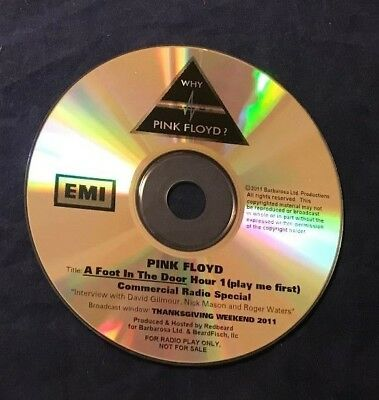 Pink Floyd ~ A Foot In The Door 2001 Disc 1 Of 2 Cd Emi Commercial Radio Special