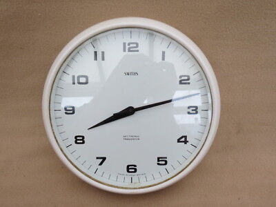 "Vintage Smiths Sectronic Transistor ""delhi"" Dial Clock For Spares Repair"
