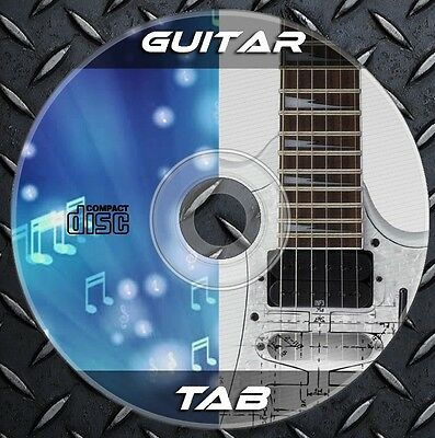 48.328 fichiers Guitare Basse TAB DVD Partitions Tablature Songbook Chords Song