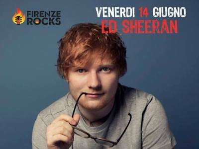 ★ 2 Ultimissimi Biglietti Pit Sottopalco Ed Sheeran Firenze Rocks Sold Out ★
