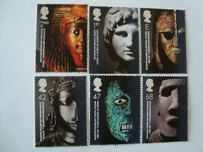 Gb 2003 Set Of Stamps '250Th Anniversary Of The British Museum' -  Mint / Mnh