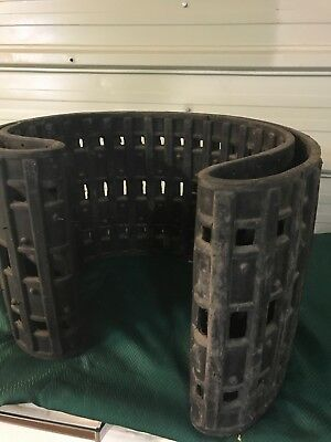 Vintage New Snowmobile Snowchief Rubber Track 56 Lugs