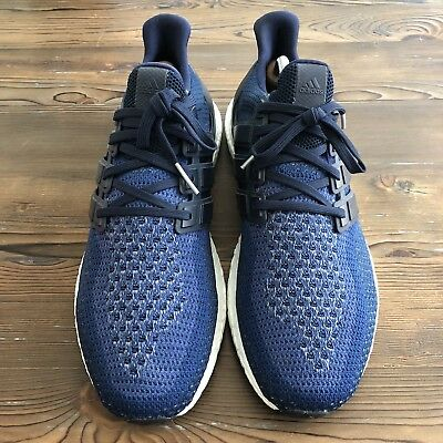 ADIDAS ULTRABOOST 2.0 Running Shoes Navy Blue Mens Size US 11.5 UK 11 AQ5928