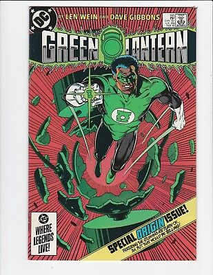 Green Lantern vol.2 #185 - Jon Stewart Origin - Near Mint