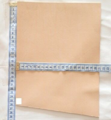 Natural Veg Tan Leather Quality Buff 2.5Mm Thick Tooling Leather Offcuts Strop