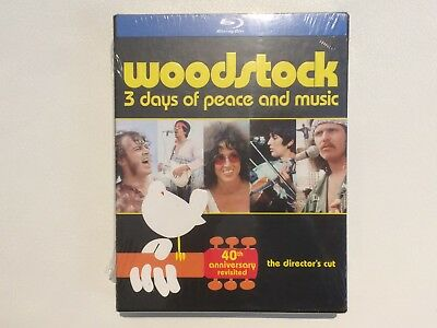Woodstock: 40th Anniversary Revisited Director's Cut limited edition (Blu-ray)