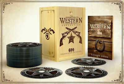 The Definitive TV Western Collection . 600 Television Episodes .. 48 DVD Box NEU