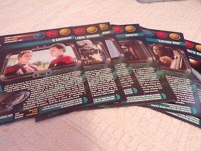 Star Trek: Voyager Movie Info Cards (Seasons 2, 4, 5)