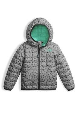 The North Face Thermoball Leopard Print Hooded Jacket Toddler 4T NWT $99