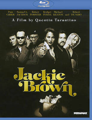 Jackie Brown (Blu-ray Disc 2011) Pam Grier, Samuel Jackson Brand New!
