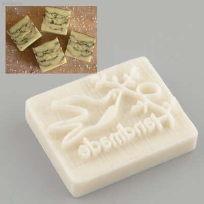 2D2B Pigeon Desing Handmade Yellow Resin Soap Stamp Stamping Mold Craft Gift