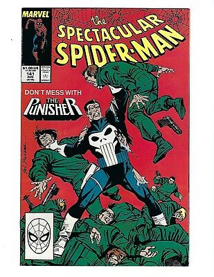 Peter Parker, The Spectacular Spider-Man # 141 (Aug 1988), Fn+